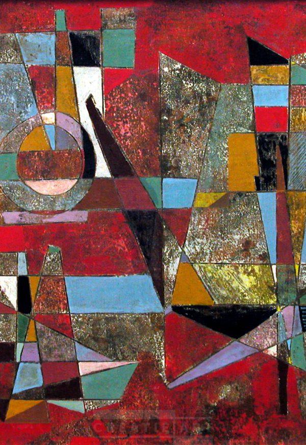 Emiel Bergen 1959 painting