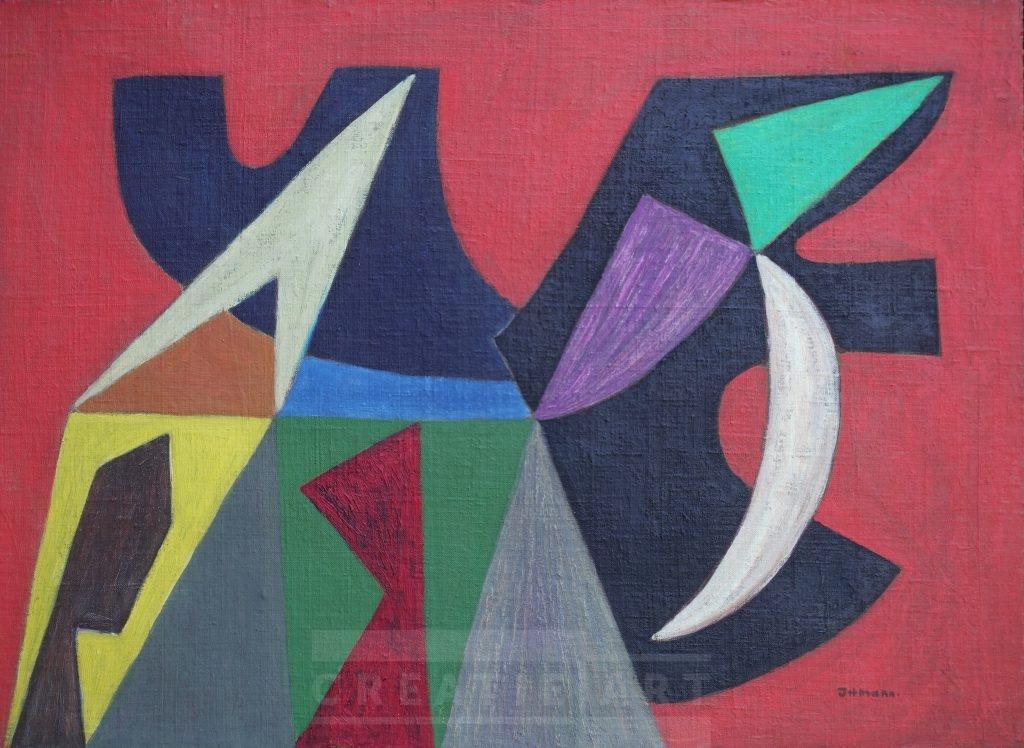 hans ittmann painting ca. 1950