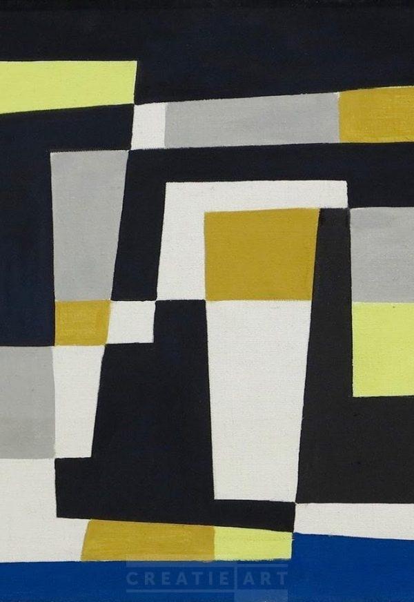 Siep van den Berg painting ca. 1957