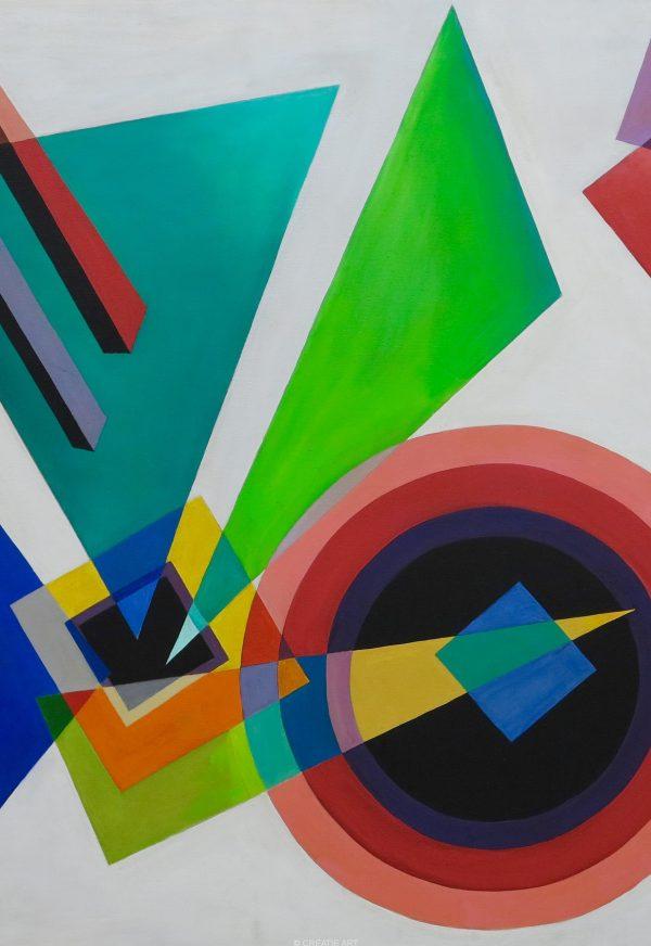 Manette van Hamel painting 1962