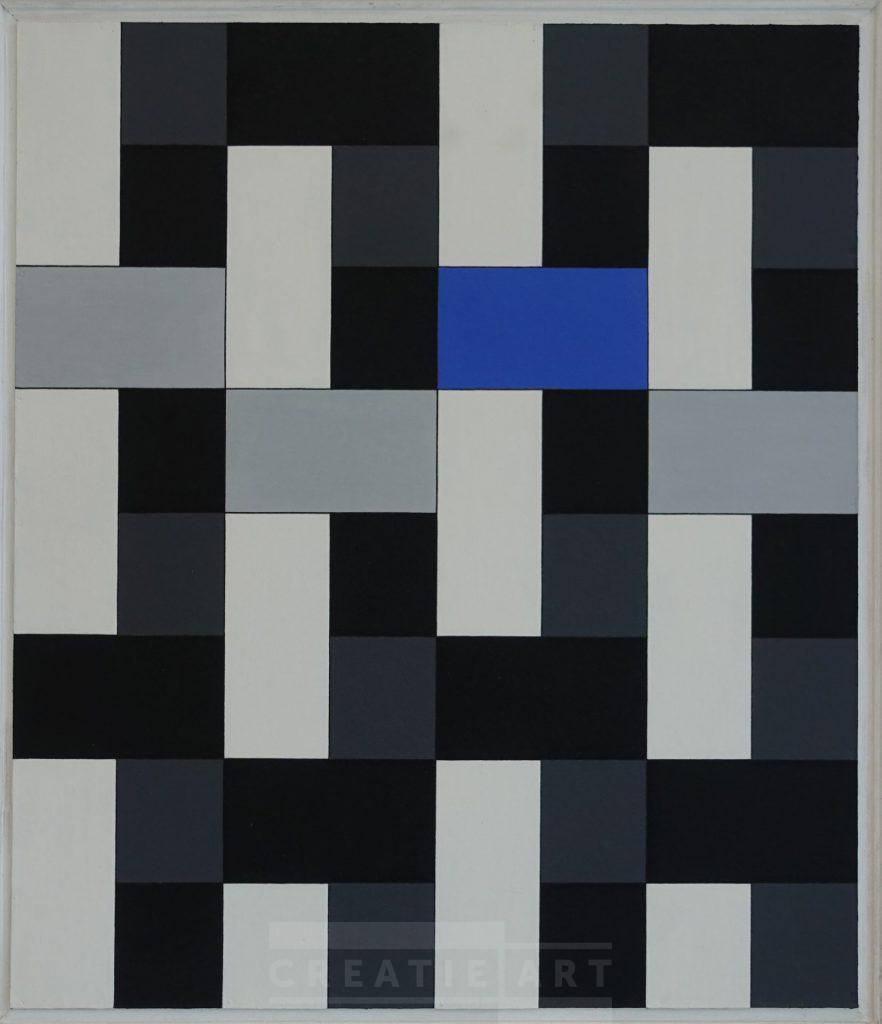 Wim sinemus geometric painting