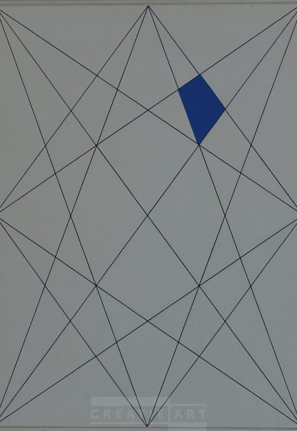 wim sinemus geometric painting 1951