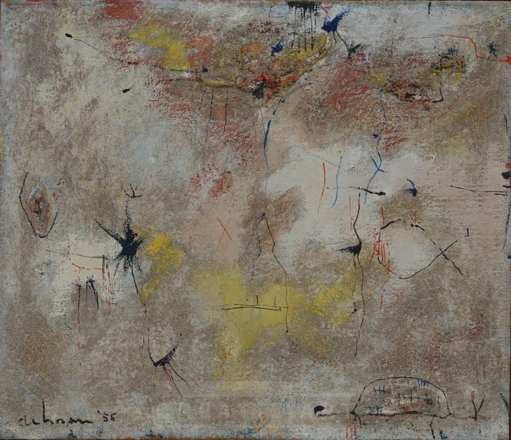 wim de haan painting 1955