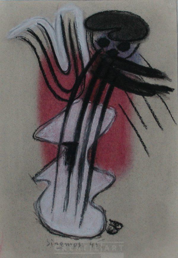 wim sinemus crayon paper 1945