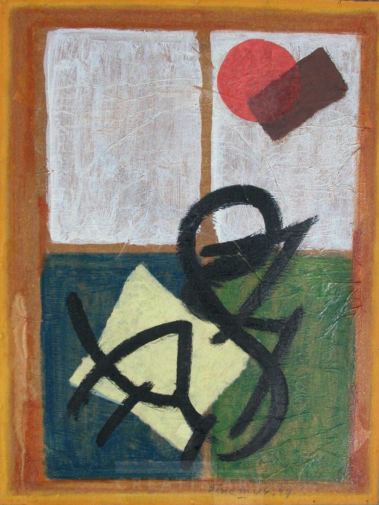 wim sinemus collage board 1949