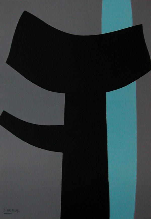Wim Sinemus painting canvas 1964