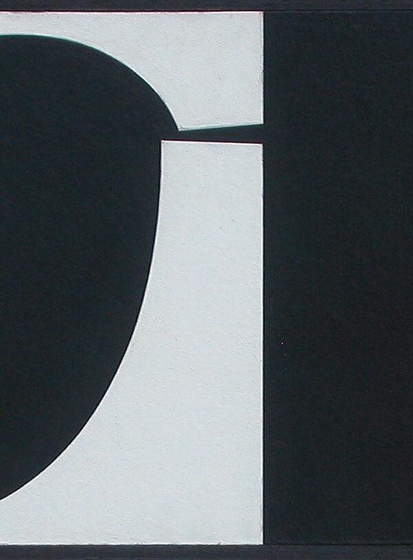 Ole Schwalbe oilpainting 1954-56 Komposition 3